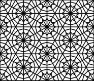 Nahtloses Muster der Arabeske in der editable Vektordatei Lizenzfreie Stockbilder