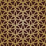 Nahtloses Muster in der arabischen Art Stockbilder