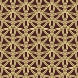 Nahtloses Muster in der arabischen Art Stockfoto