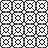 Nahtloses Muster der arabischen Verzierung Stockfotos