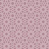 Nahtloses Muster der arabischen Verzierung Stockfoto