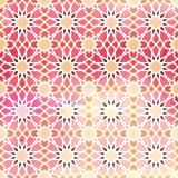 Nahtloses Muster der arabischen Verzierung Lizenzfreies Stockfoto