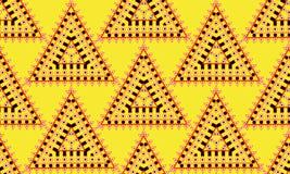 Nahtloses Muster der Art des amerikanischen Ureinwohners Stockfotos