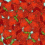 Nahtloses Muster der Beeren Stockbild