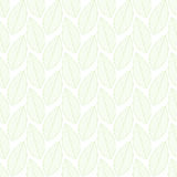 Nahtloses Muster der Blätter stockbilder