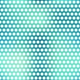 Nahtloses Muster der blauen Punkte Lizenzfreie Stockfotos