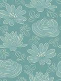 Nahtloses Muster der Blume. Lizenzfreies Stockfoto