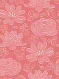 Nahtloses Muster der Blume. Lizenzfreie Stockfotografie