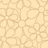 Nahtloses Muster der Blume Stockbild