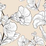 Nahtloses Muster der Blume vektor abbildung