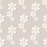 Nahtloses Muster der Blume Stockfoto