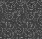 Nahtloses Muster der Blumenstrudel Stockbilder