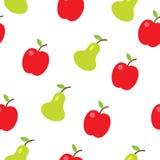 Nahtloses Muster der bunten Früchte Lizenzfreies Stockfoto