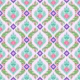 Nahtloses Muster der bunten thailändischen Kunst vektor abbildung