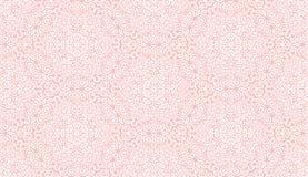 Nahtloses Muster der durchdachten weißen Fantasieblume Stockbild