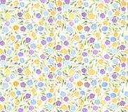 Nahtloses Muster der einfachen kleinen Blumen vektor abbildung