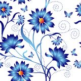 Nahtloses Muster der Eleganz Farb Lizenzfreie Stockfotos