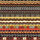 Nahtloses Muster der Ethnie Boho-Art Ethnische Tapete Stammes- Kunstdruck Alte Zusammenfassung fasst Hintergrundbeschaffenheit ei Stockfotografie