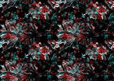 Nahtloses Muster der exotischen Geometrie Lizenzfreies Stockfoto