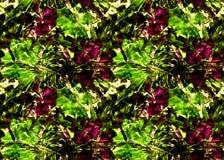 Nahtloses Muster der exotischen Geometrie Stockfotografie