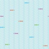 Nahtloses Muster der Fishbones Lizenzfreies Stockfoto