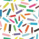 Nahtloses Muster der flachen Illustration des Designs modernen Lizenzfreies Stockfoto