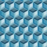 Nahtloses Muster der Fliese 3d Stockbilder
