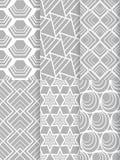 Nahtloses Muster der Form vektor abbildung
