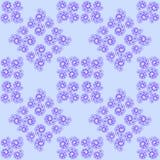 Nahtloses Muster der Fractalzusammenfassungs-Spirale Lizenzfreies Stockbild