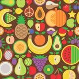 Nahtloses Muster der Frucht Lizenzfreies Stockfoto