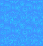 Nahtloses Muster der Gekritzelmonster Lizenzfreies Stockbild