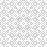 Nahtloses Muster der Geometrie mit Kreisen und Quadraten Lizenzfreie Stockbilder