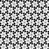 Nahtloses Muster der geometrischen Blume Lizenzfreie Stockfotos
