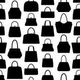 Nahtloses Muster der Handtasche stock abbildung