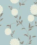 Nahtloses Muster der hellen Blumenweinlese Stockfoto