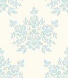 Nahtloses Muster der hellen Blumenweinlese Stockfotografie