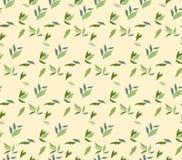 Nahtloses Muster der Herbstblätter Stockfotografie