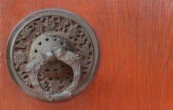 Nahtloses Muster der Holztür und der Antike Lizenzfreies Stockbild
