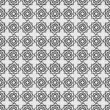 Nahtloses Muster in der islamischen Art Stockfoto