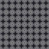 Nahtloses Muster in der islamischen Art Stockbild