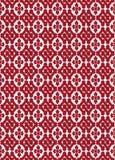 Nahtloses Muster in der japanischen Art mit stilisierten Blumenformen a Stockfotografie