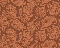 Nahtloses Muster der klassischen Tapete Lizenzfreies Stockbild