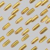 Nahtloses Muster der Kugelbombardierung Lizenzfreie Stockfotografie