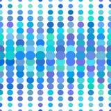 Nahtloses Muster der mehrfarbigen Punkte Lizenzfreies Stockfoto