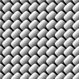 Nahtloses Muster der Metallskala Lizenzfreie Stockfotos