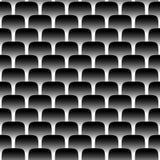 Nahtloses Muster der Metallskala Stockfoto