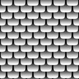 Nahtloses Muster der Metallskala Lizenzfreies Stockfoto