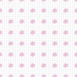 Nahtloses Muster der modernen Aquarellart mit Lavendel, Beschaffenheitshintergrund Botanische Illustration Lizenzfreies Stockbild