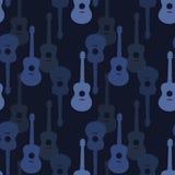 Nahtloses Muster der Musik stockfotografie