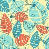 Nahtloses Muster der Natur Lizenzfreies Stockbild
